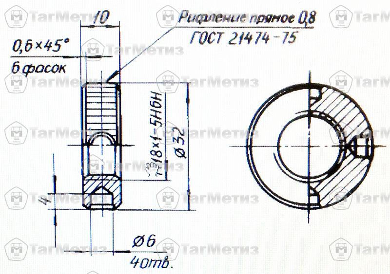 Гайка ОСТ 1 10114-85