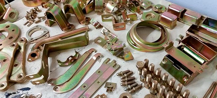Нанесение защитного металлического покрытия