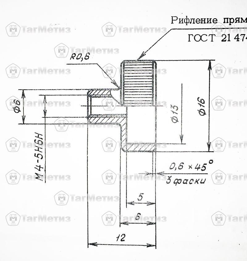 Гайка ОСТ 1 10681-72