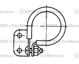 Хомут ОСТ 1 12100-75 правый/левый