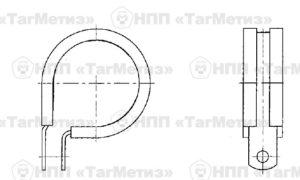 Хомут с металлизацией ОСТ 1 14796 - 2010