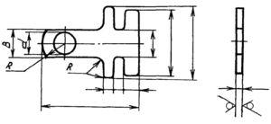 Наконечник 11304 — 5786А. Тип 3