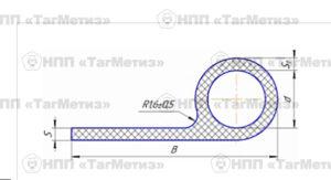 Профили резиновые со смещенной головкой ОСТ 1 14253-82